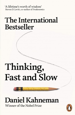 Thinking, Fast and Slow (Penguin Press Non-Fiction) Paperback – 28 May 2012 by Daniel Kahneman  (Author)