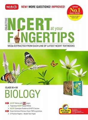 Objective NCERT at your FINGERTIPS for NEET-AIIMS - Biology Paperback – 21 July 2020 by MTG Editorial Board (Author)